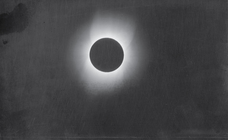 Corona of the Sun during a Solar Eclipse Credit: Thomas Smillie, Smithsonian Institution Archives